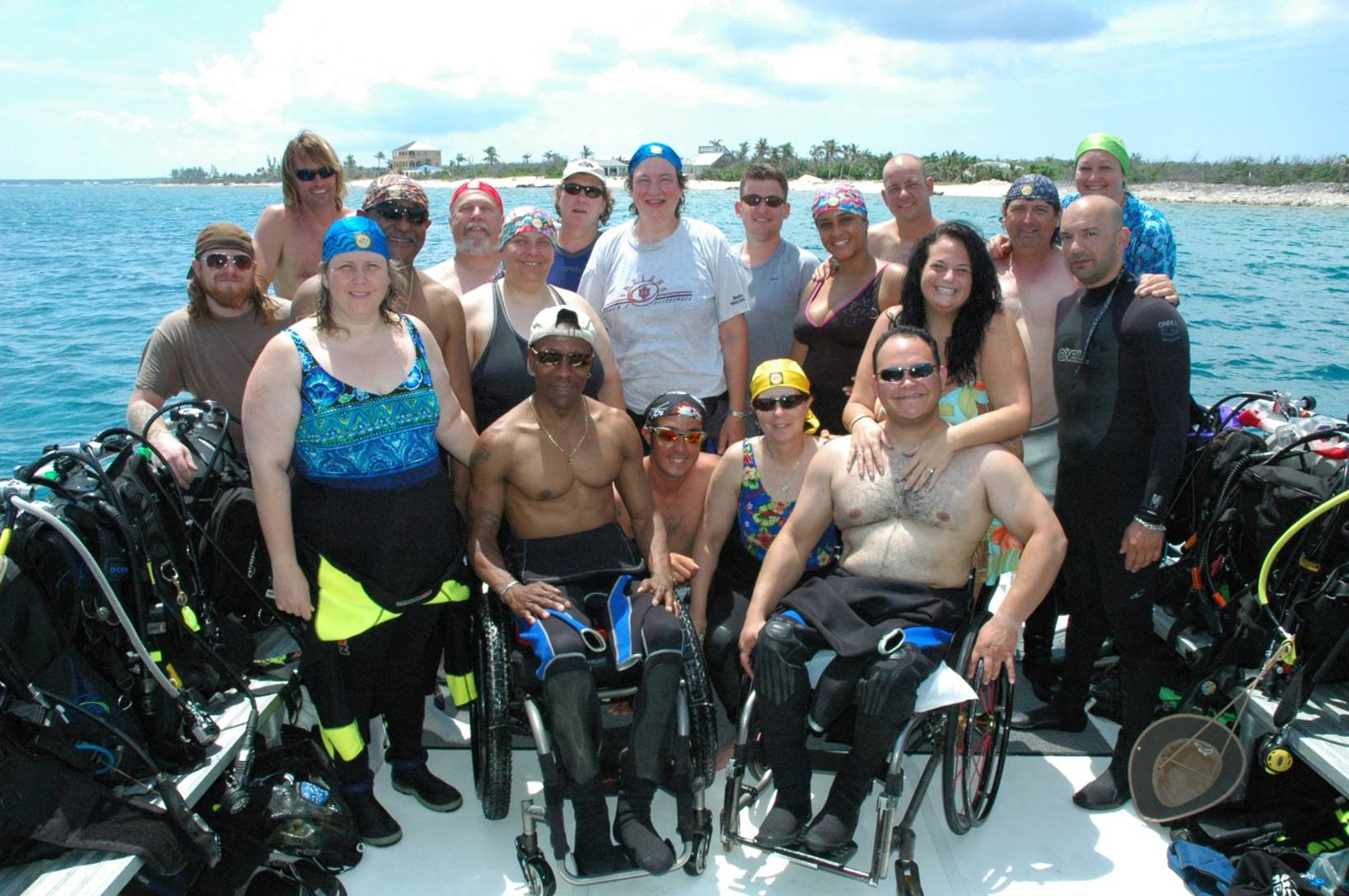 Dive Pirates, Adaptive SCUBA